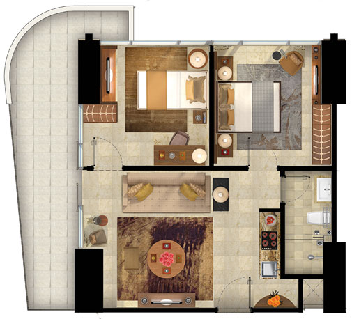 Floorplan2bedroomT3
